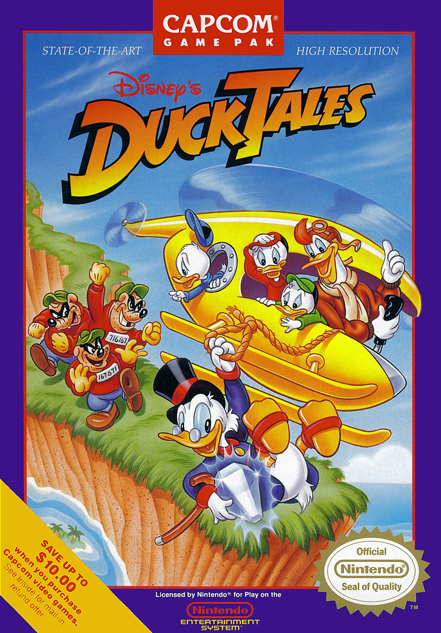 W Ducktales PS3 Exclusive DuckTale...