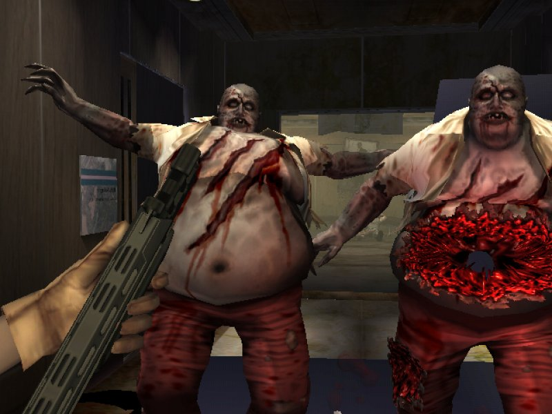The House of the Dead name is synonymous with lightgun zombie killing.